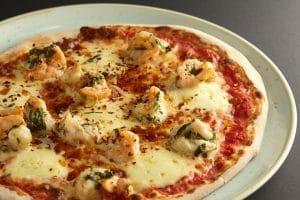 Gambero pizza