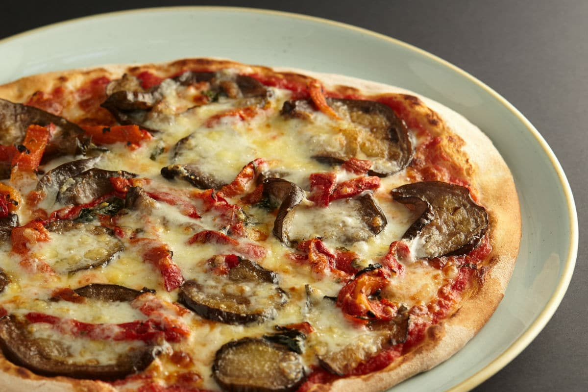 Melanzane pizza at 11 Inch Pizza