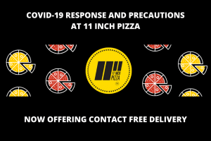 Contact Free Delivery Pizza COVID-19 Response
