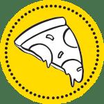 circle pizza icon