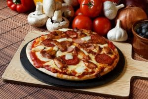Pizza on Stone