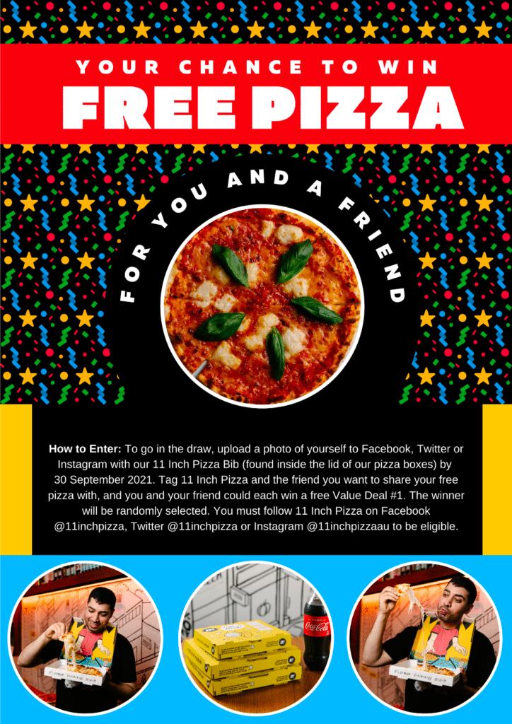 Win Free Pizza