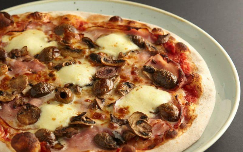 Capricossa pizza at 11 Inch Pizza