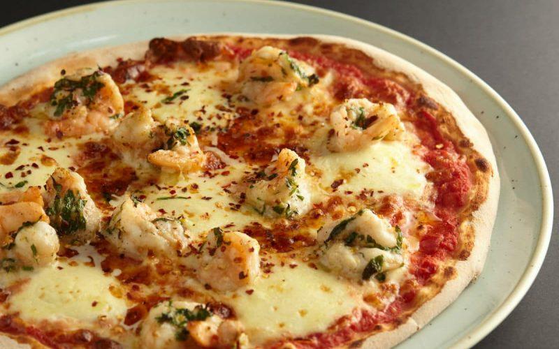 Gambero pizza at 11 Inch Pizza
