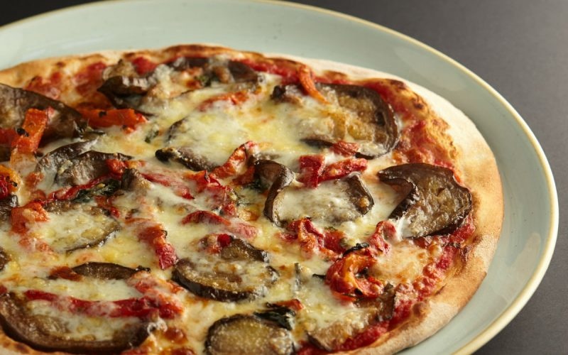 Melanzane pizza at 11 Inch Pizza
