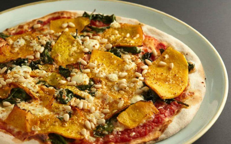 Zucca pizza at 11 Inch Pizza