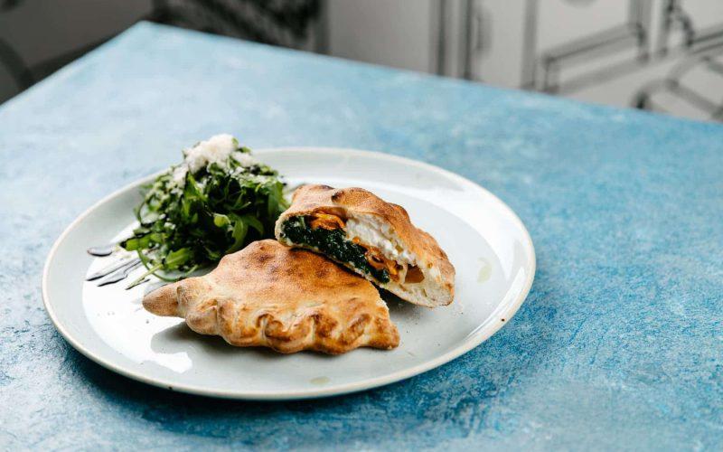 Calzone 2 - Mozzarella / Fresh Ricotta / Spinach / Roasted Pumpkin